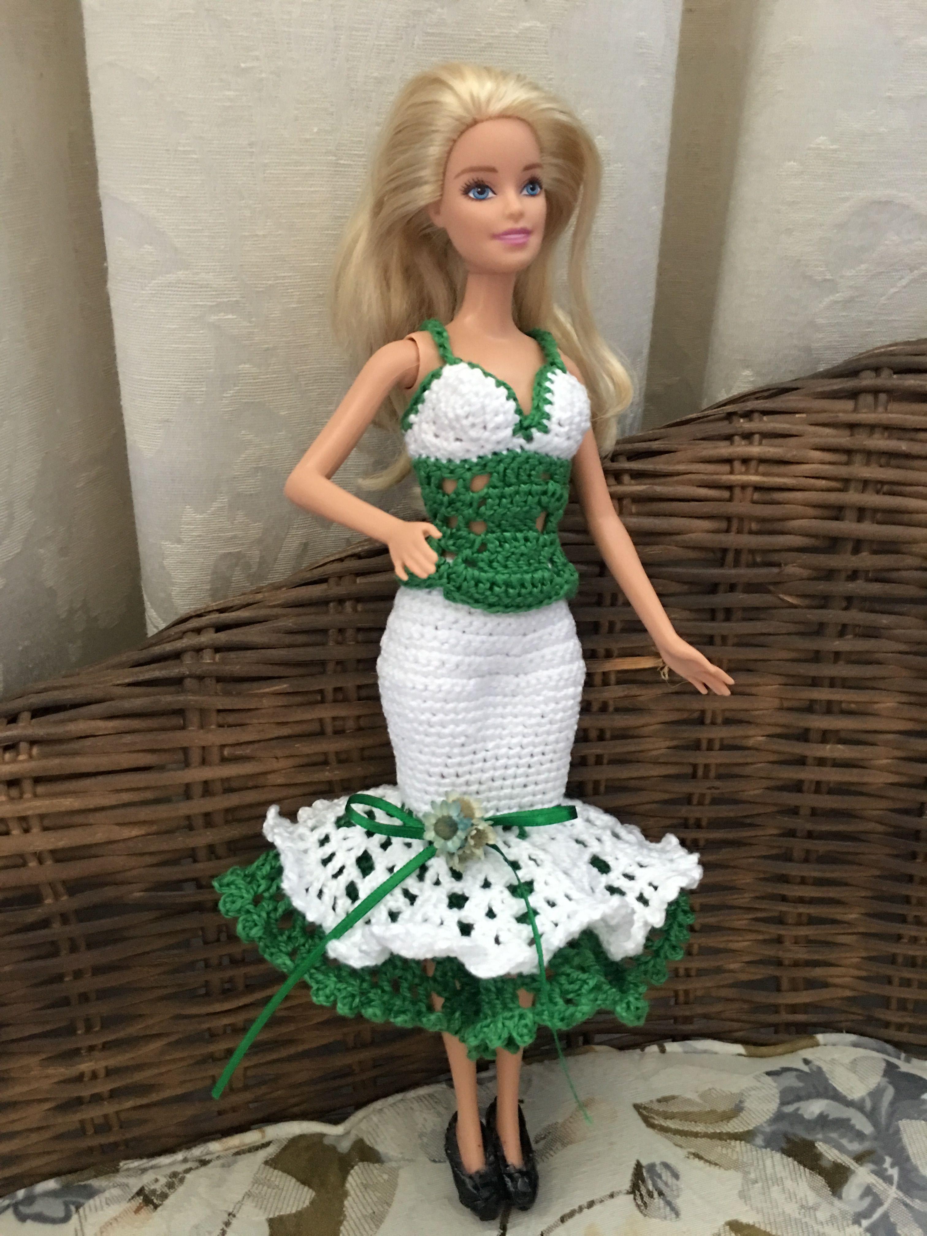Pin de Maminette Maminette en b : Barbie robe demi longue ...