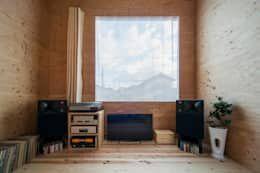 正しいスピーカー配置の基本ポイント Homify オーディオ部屋 スピーカー オーディオ