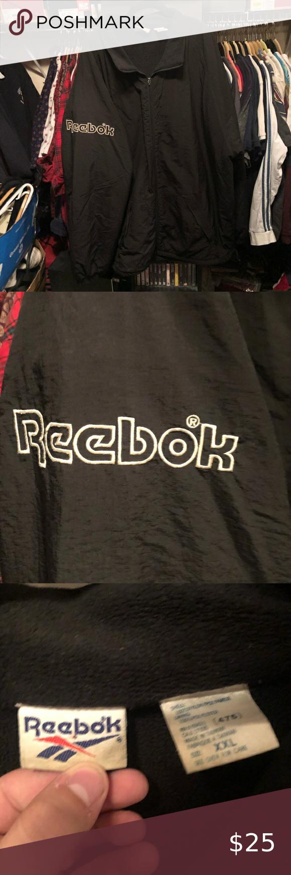 Vintage Reebok Spell Out Puffer Jacket Puffer Jackets Reebok Clothes Design [ 1740 x 580 Pixel ]