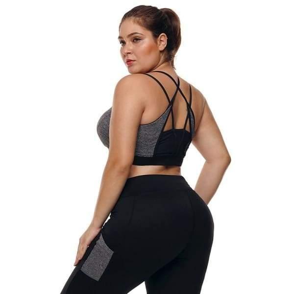 f64e559f5 Buy Online Affordable Womens Plus Size  yogapants Suit  athleisure Outfit   plussize