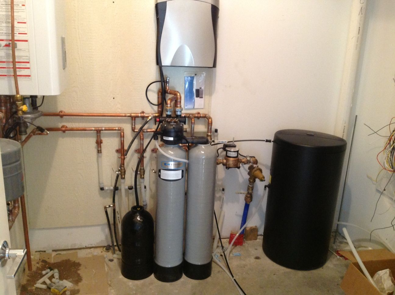 New Construction Complete Kinetico Home Water System Signature Softener K5 Drinking Station Lakeville Mn