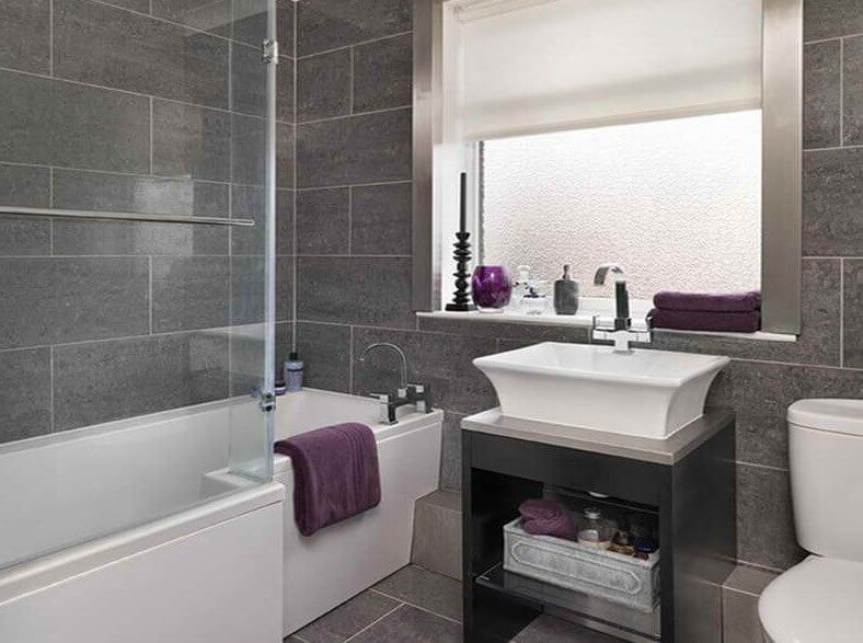 grey bathrooms designs - Bathroom Designs Uk