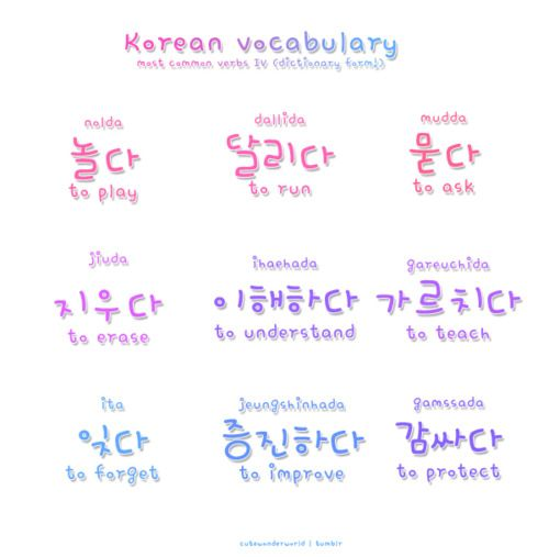 Why Korean VERBS are the HARDEST!! - YouTube