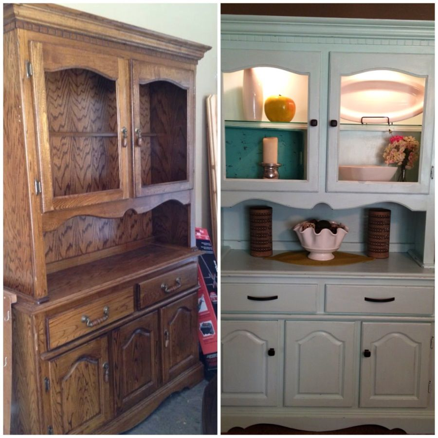 project completed painted china cabinet and changed on home depot behr paint colors id=75757