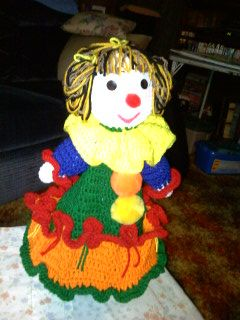 Happy Clown Doll with Pockets
