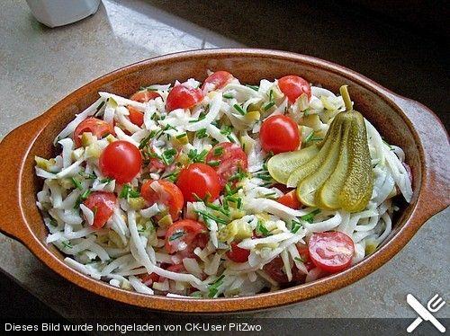 Leckere deutsche salate
