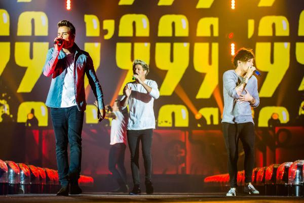 The Boys on stage in Detroit, Michigan
