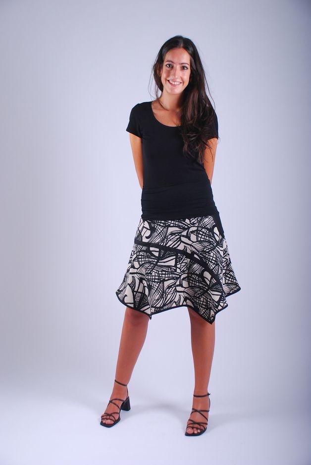 991f580c4 Faldas por la rodilla - Falda