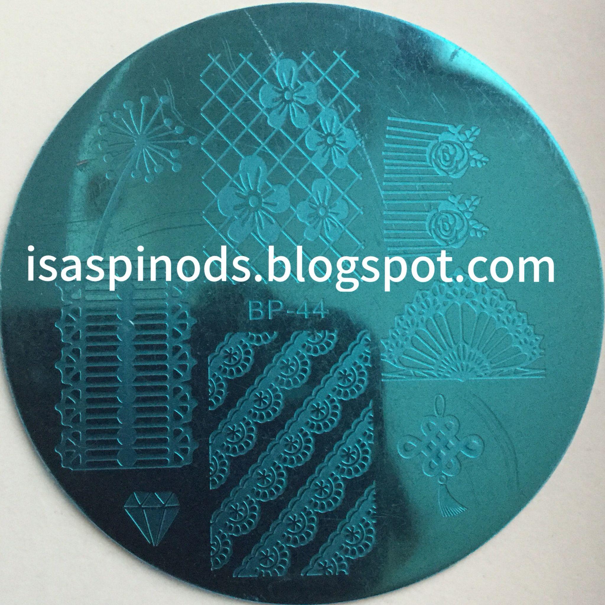 Placa BP-44 de la web http://www.bornprettystore.com/