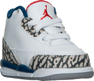 finest selection ac570 419fd Kids' Toddler Jordan Retro 3 Basketball Shoes | Baby Outfits ...