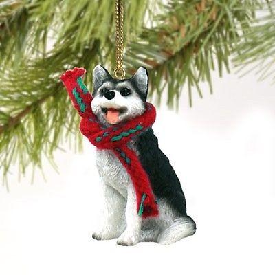 Husky-Black-amp-White-Dog-with-Brown-Eyes-Original ...