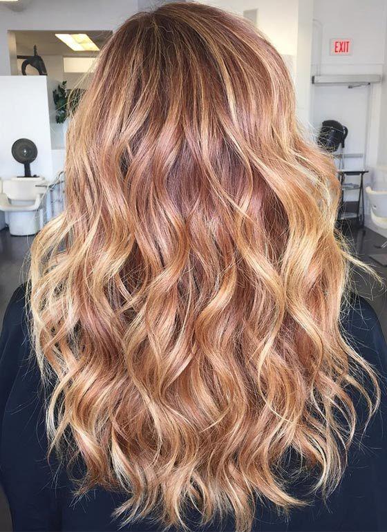 Top 40 Blonde Hair Color Ideas Copper blonde hair