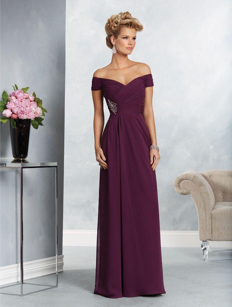 ae63141bd6f Check out the deal on Alfred Angelo 9062 Off the Shoulder Mothers Gown at French  Novelty