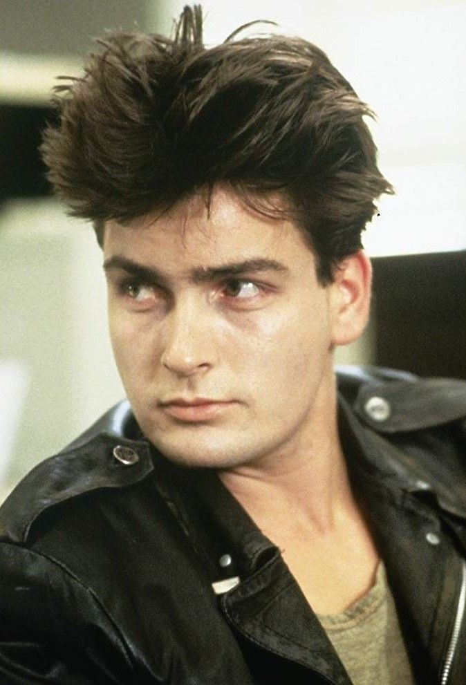 Charlie Sheen 1986