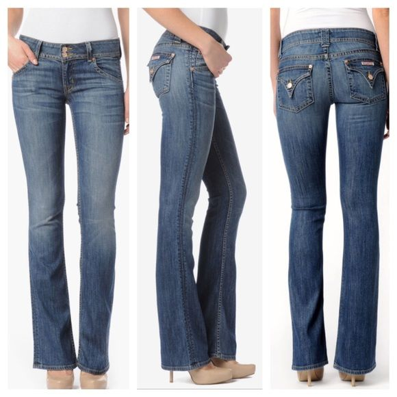 61858b8e1ab Hudson jeans signature petite bootcut in Savi wash The signature petite  bootcut from Hudson jeans.