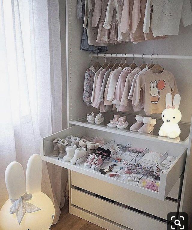 Kinderzimmer Baby zimmer grau, Baby kleiderschrank