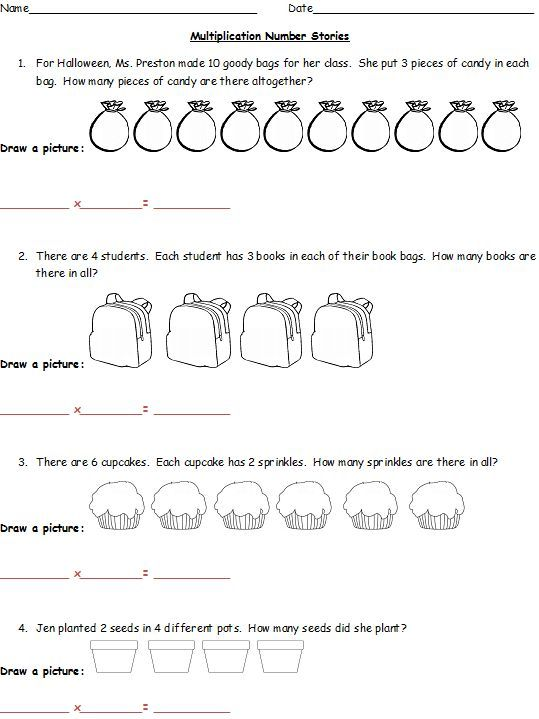multiplication word problems with one digit numbers 4th grade teaching tools pinterest. Black Bedroom Furniture Sets. Home Design Ideas