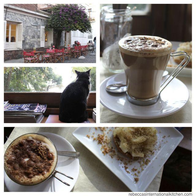 Cafés in Colonia del Sacramento, Uruguay
