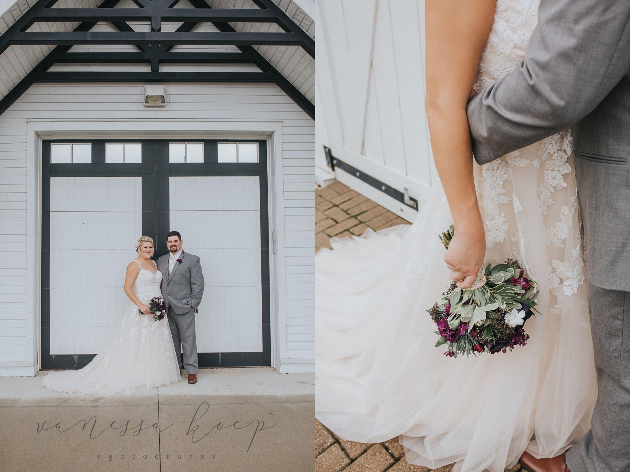 Summer wedding photography ideas. White wedding. Barn doors. Central ...