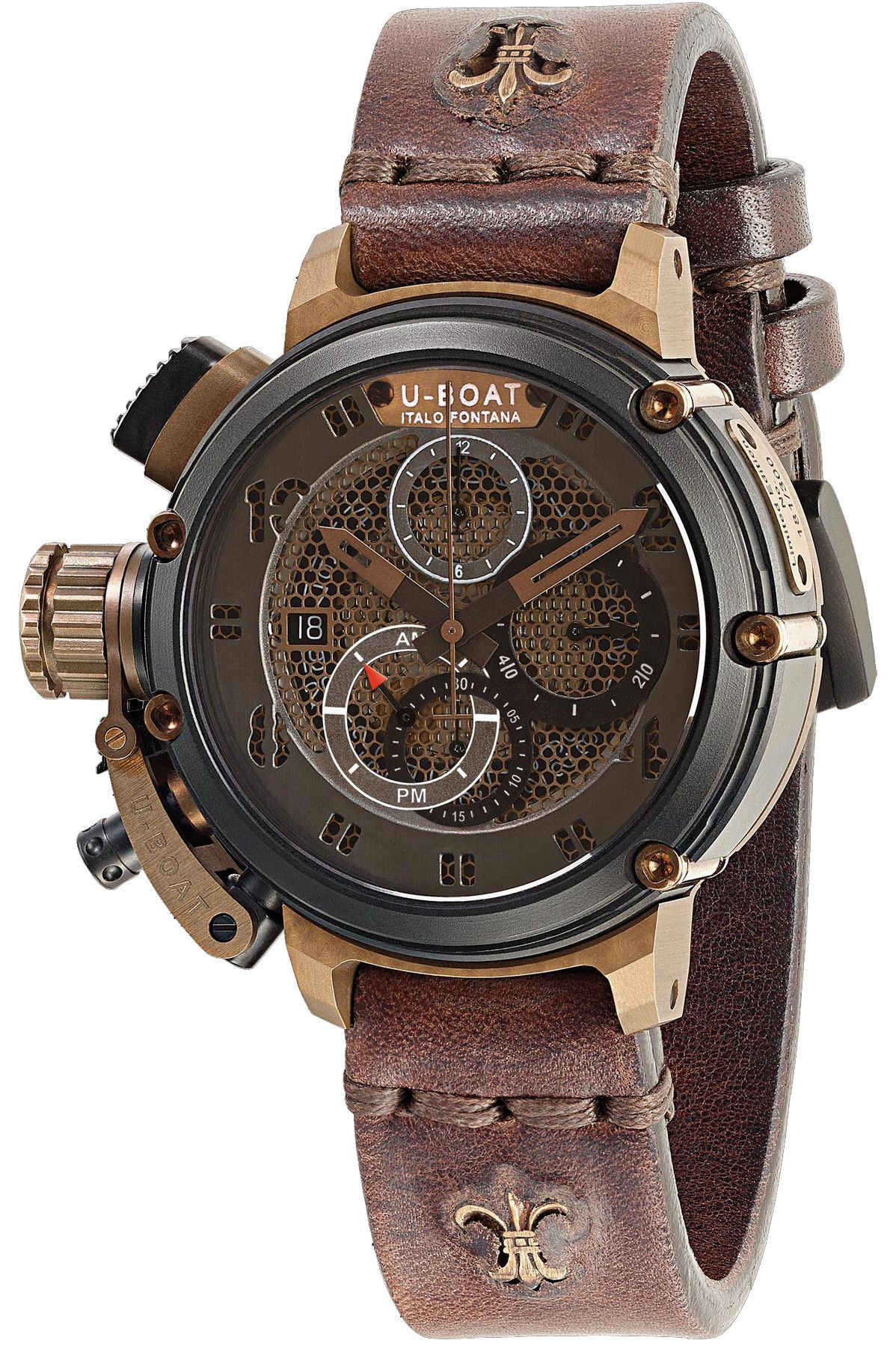 07e4da90640 U-Boat Watch Chimera Net Black Bronze Limited Edition