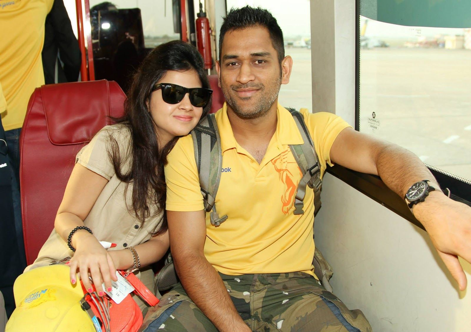 Image result for dhoni and his wife