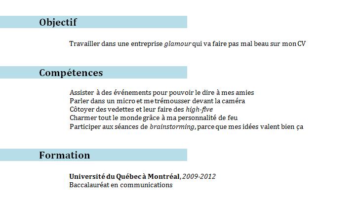 Comment S Ecrit Curriculum Vitae Modelo De Curriculum Vitae Curriculum Vitae Curriculum