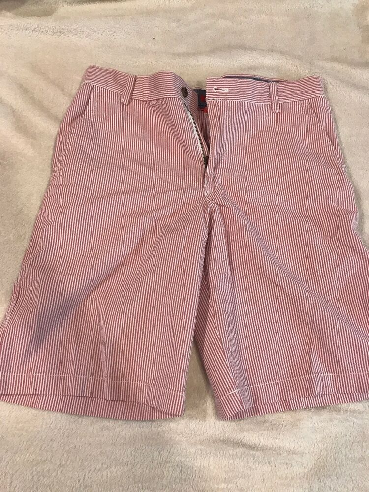 5a74983566 Izod Mens Pink And White Pin Stripe Shorts 32 #fashion #clothing #shoes  #accessories #mensclothing #shorts (ebay link)