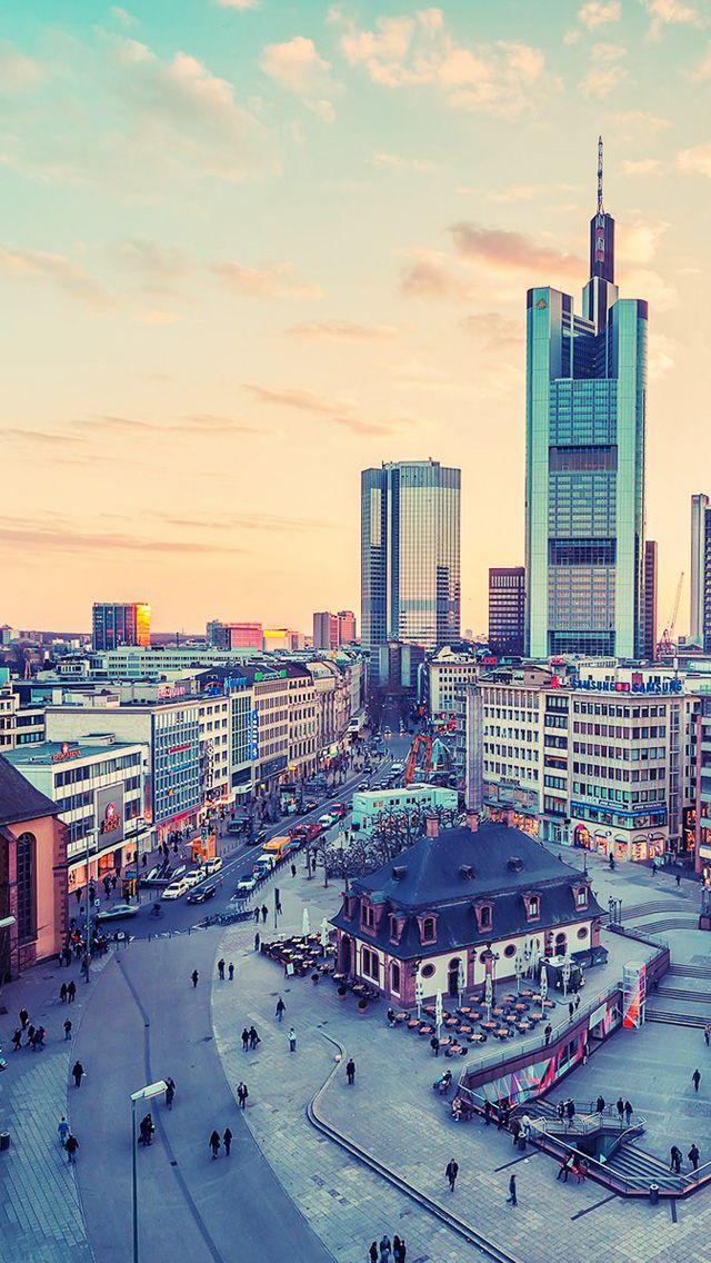 Frankfurt Germany Cities Iphone 5s Wallpaper Download Iphone Wallpapers Ipad Wallpapers One Stop Do City Iphone Wallpaper City Wallpaper Iphone 5s Wallpaper