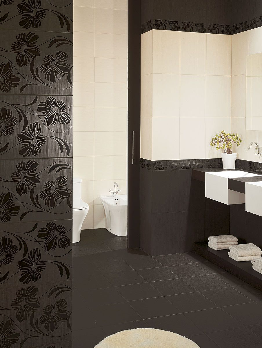carrelage mural de salle de bain marron beige lydia espace aubade salle de bain tiles. Black Bedroom Furniture Sets. Home Design Ideas