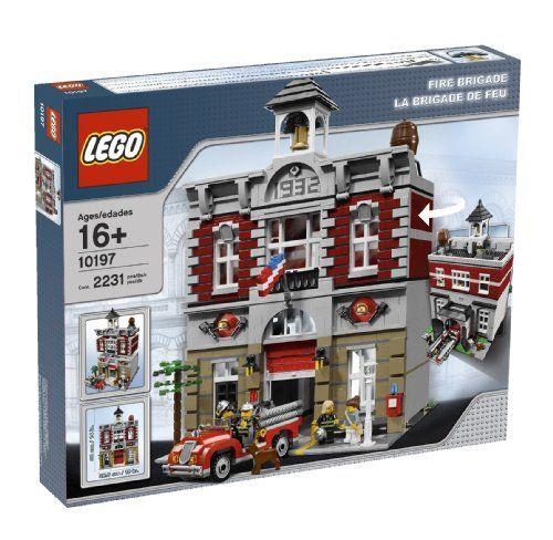 Creator Brigade Jeu De Construction Lego La 10197 EDI2H9