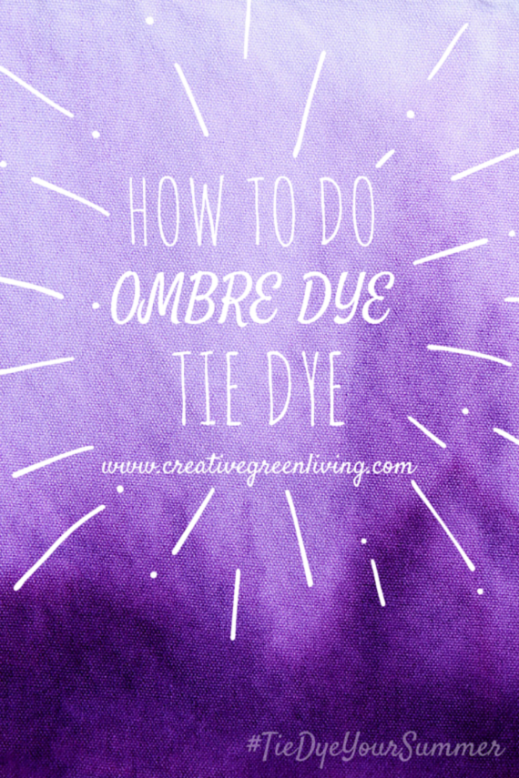 how to make green dye