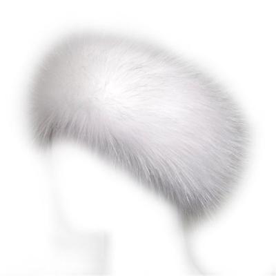 Fur Winter Hat Faux Headband Ski Earwarmer Women Russian Fox Lady Earmuff Fur Headband Faux Fur Headband Faux Fur Hat
