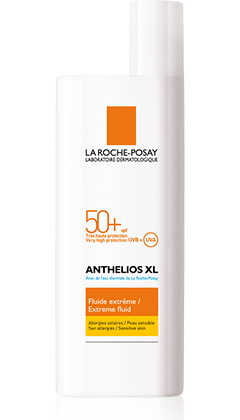 Anthelios extreme facial fluid sunblock xl