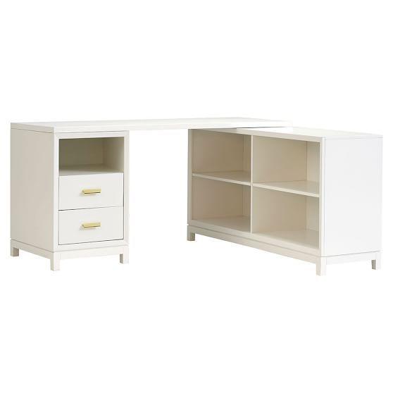 Rowan Drawer Corner Desk Pb
