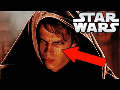 Why Was Anakin Crying In Revenge Of The Sith Star Wars Explained Youtube Em 2020