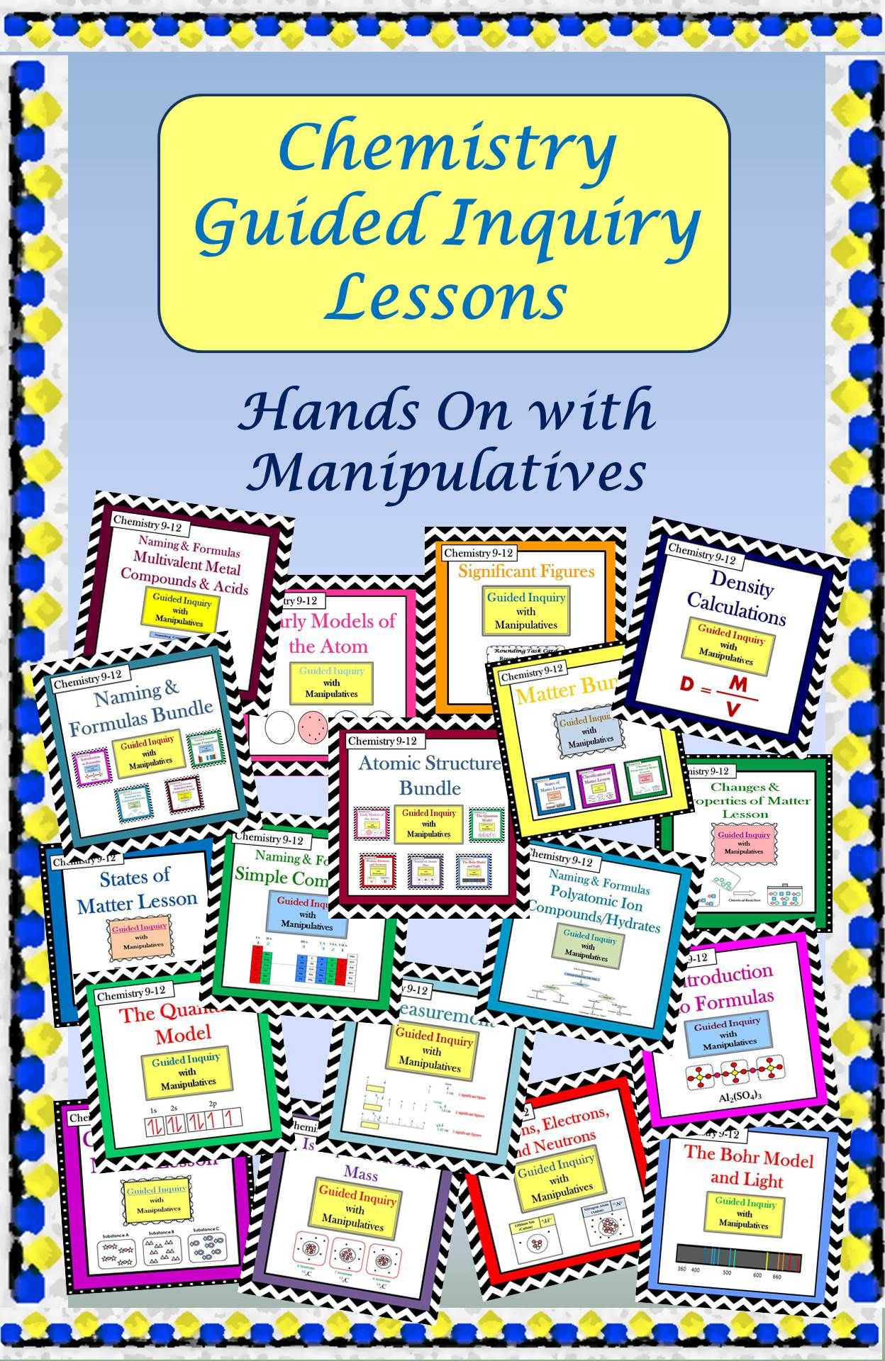 These Student Centered Guided Inquiry Lessons Enable