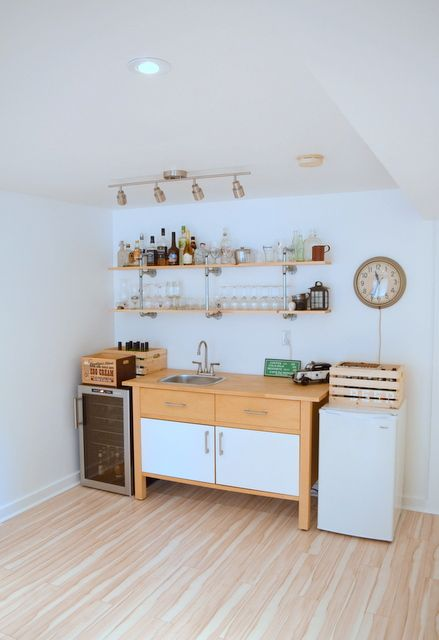 Hacking the IKEA VARDE. The making of a basement kitchenette/bar ...