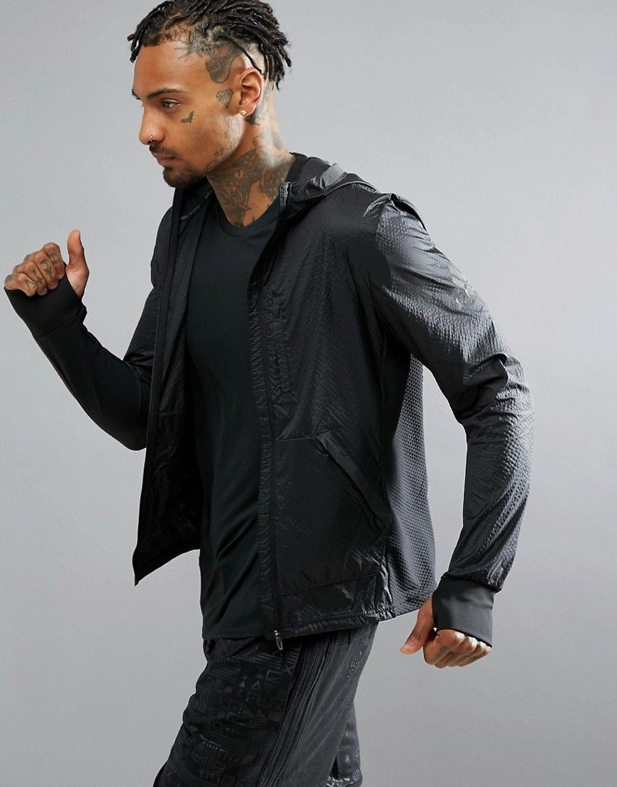 pretty nice fea77 89c76 ADIDAS ORIGINALS ADIDAS RUNNING PURE AMP JACKET IN BLACK AP9753 - BLACK.   adidasoriginals  cloth