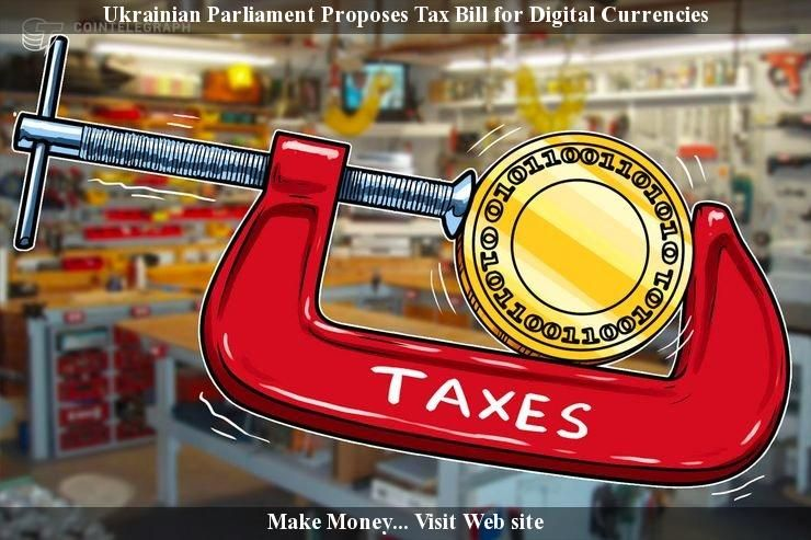 Ukrainian Parliament Proposes Tax Invoice for Digital Currencies - tax invoice