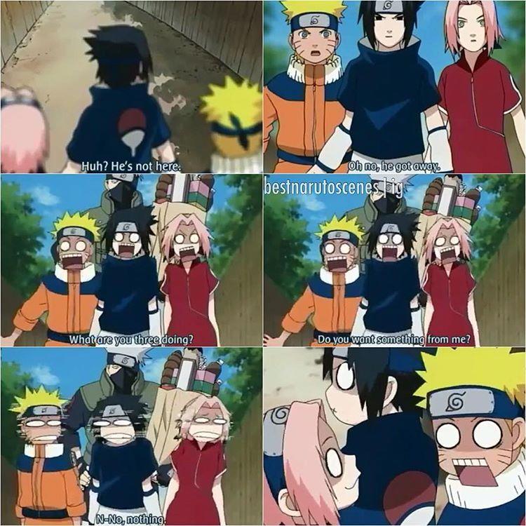Haha Poor Naruto Is Ignored Again By Sakura: O Munfo N Mais O Msm Kkkk TEAM7 T Naruto