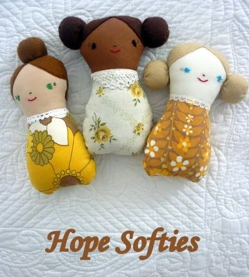 Mon Petit Poppet: Hope Softies