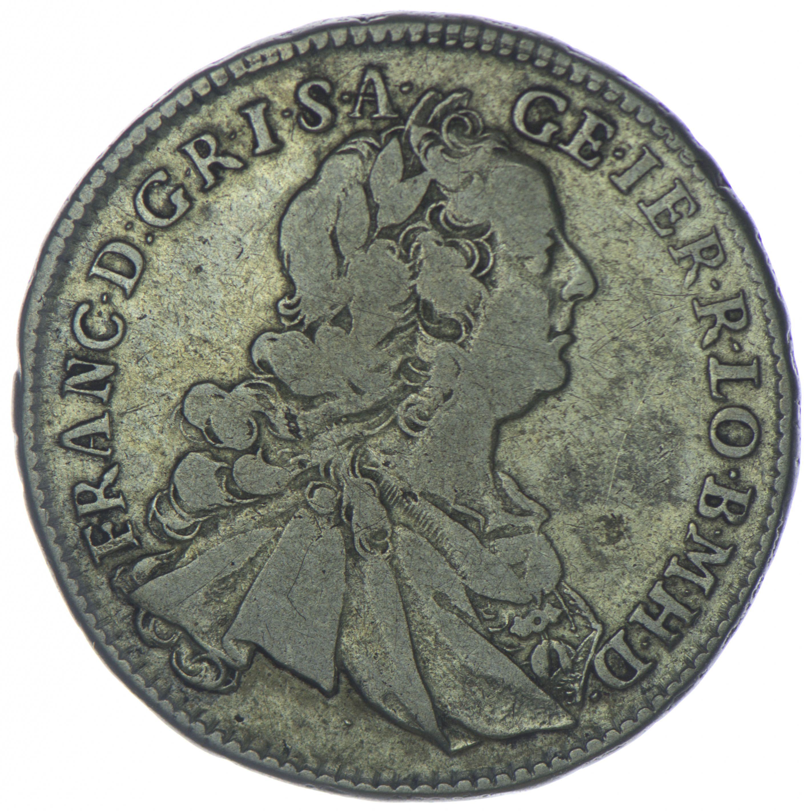 Franz I Stefan 1745 1765 Xvii Kreuzer 1752 Kb Silber Coins Currency Thankful