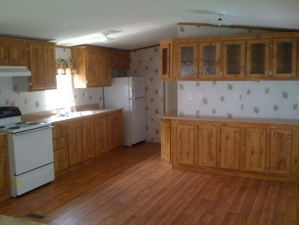 Interesting Kitchen With Kitchen Cabinets For Mobile Homes ...