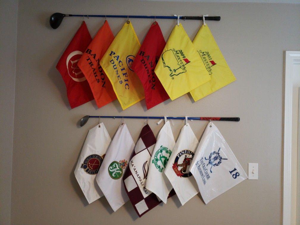 Golf Flags Decor Flag Decor Golf Decor Golf Room