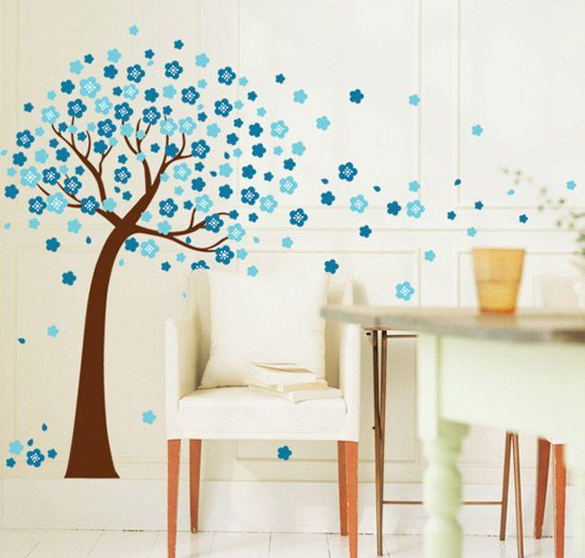 Taobao.nl - Een gezellige woonkamer slaapkamer sticker stickers boom ...