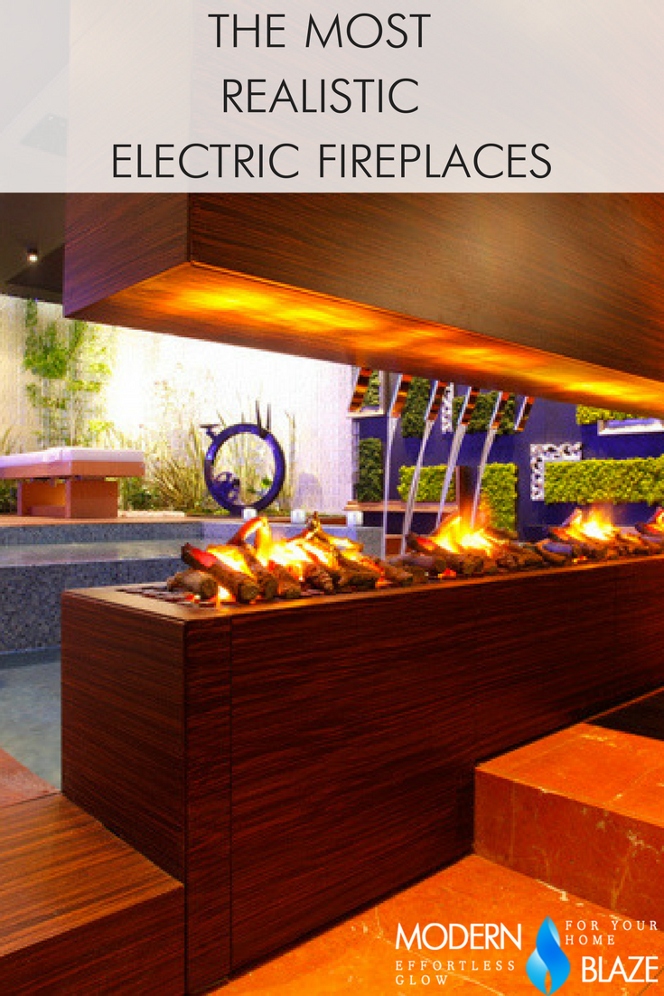 4 Most Realistic Electric Fireplaces: New Water Vapor