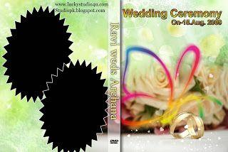 27 Wedding DVD Cover Psd Templates Free Download | StudioPk ...