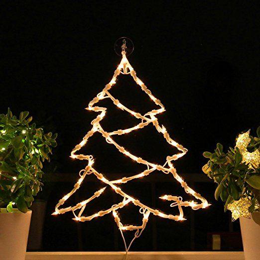 fenster silhouette weihnachten weihnachtsdeko. Black Bedroom Furniture Sets. Home Design Ideas