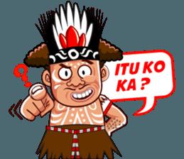 Pace dan Mace Papua   Stiker, Gambar lucu, Lucu