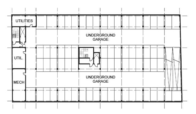 3 car garage layouts circuit diagram maker House plan with basement parking
